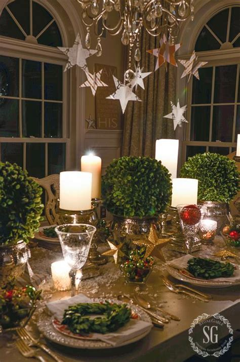 50 Christmas Table Decoration Ideas - Settings and