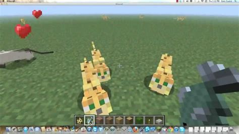 How to Breed Cats in MineCraft 1
