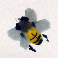 Bee - Chinese painting