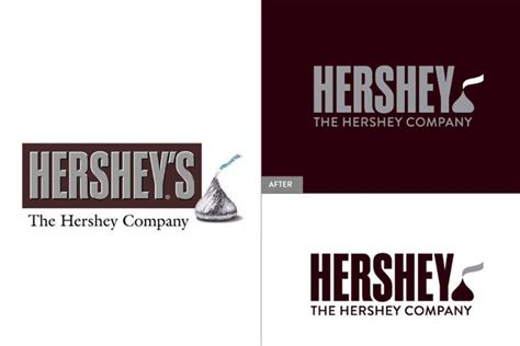 Hershey's new logo is sealed with a Kiss - CSMonitor