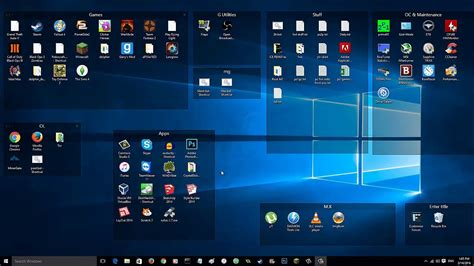 [Windows] How To Neatly Organize Your Desktop [And Group