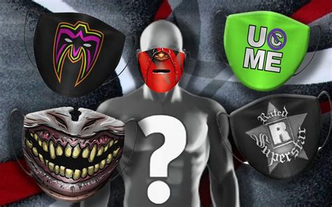 WWE Getting Into Face Mask Game With Superstar Designs