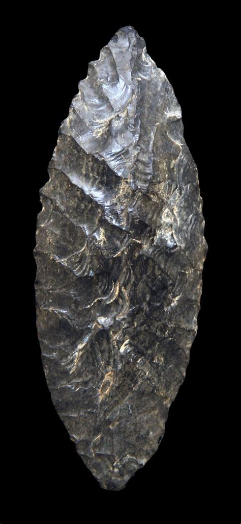 Flint Blade | Stone age tools, Native american artifacts