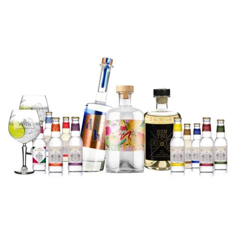 Exploration mixed pack of 10 x 200ml Double Dutch bottles