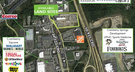 Cranberry Twp Land -20400 Route 19,Cranberry Township,PA