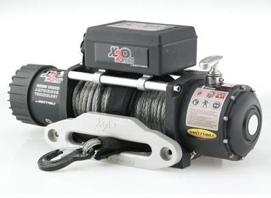 Smittybilt X20 8000 lb Comp Series Winch w/Synthetic Rope
