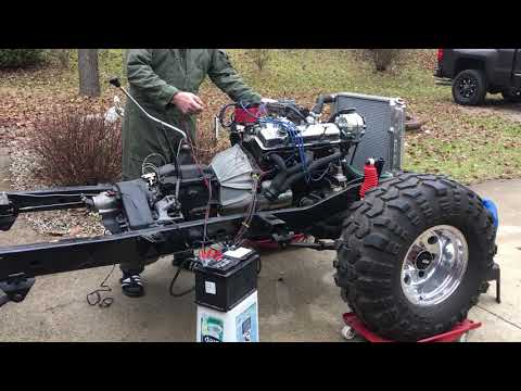 Partially Restored CJ7 Jeep with V8 and Fuel Injection