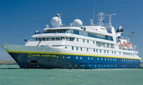 National Geographic Orion - Itinerary Schedule, Current
