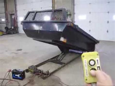 8' ELECTRIC OVER HYDRAULIC DUMP BED INSERT 4 Sold, but we