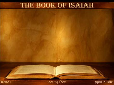 PPT - The Book of Isaiah PowerPoint Presentation, free