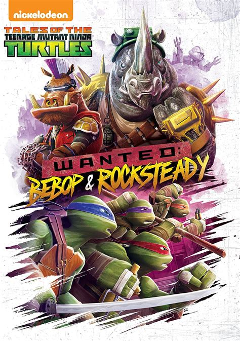 Wanted: Bebop & Rocksteady (home media release