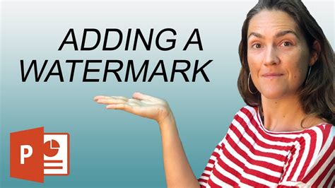 How To Add a Watermark in PowerPoint (Draft or