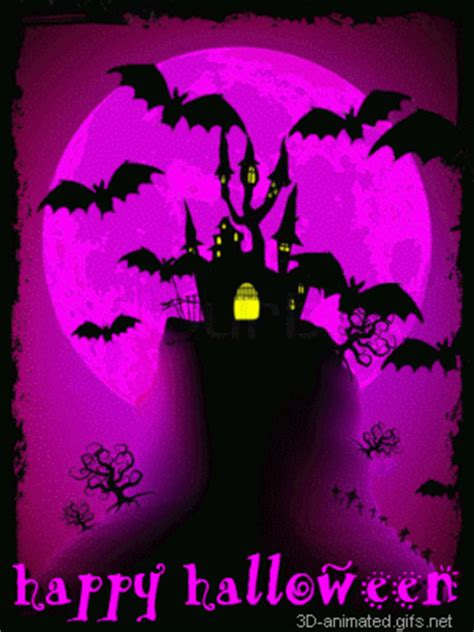 animated free gif: Free spooky happy halloween images