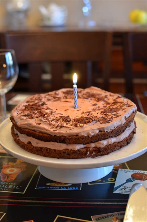 Playing with Flour: A special birthday - with chocolate