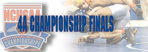 2018 NCHSAA 4A Individual Wrestling Tournament Results